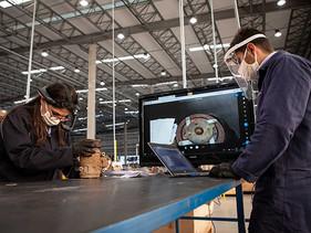 TECNO | VW Caminhões e Ônibus inaugura área de análisis técnica 4.0