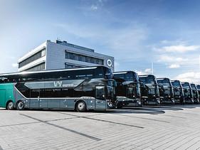 "Vy Buss AS"", incorporó 13 autobuses Setra S 531 DT para sus rutas express."