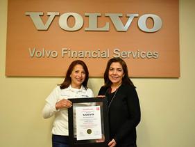 SOCIAL   Recibe Volvo Financial Services México certificación Great Place to Work