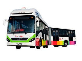 12 nuevos autobuses Volvo al Sistema Mexibús del Edomex