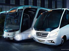 "Mercedes-Benz Autobuses ""Estamos donde tú estés"""
