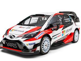 TOYOTA GAZOO RACING PRESENTA EL YARIS WRC