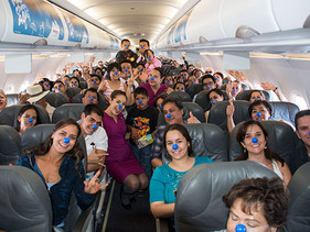 SOCIAL | Volaris conmemorael Día Mundial de la Lucha contra el Cáncer Infantil