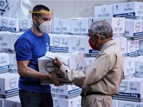 MOVILIDAD | Entrega Volvo Group despensas para aliviar daños de pandemia en México