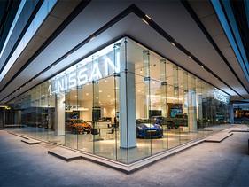 Nissan inaugura nuevo concepto de showroom