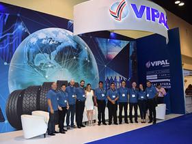 Vipal Cauchos participa en la Latin American & Caribbean Tyre Expo, en Panamá