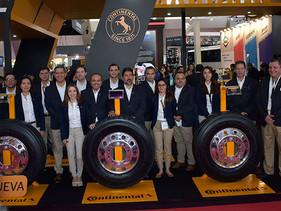 EXPO   Continental presenta nueva línea de llantas inteligentes para camión con soluciones digitales