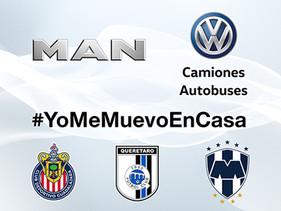 PULSO | Sostiene MAN con ganadores de #YoMeMuevoEnCasa y jugadores de Gallos, Rayados y Chivas un Me
