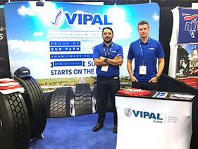 Vipal Cauchos participa del Great American Trucking Show