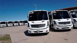 Movilizan a los Sonorenses, entregan 20 autobuses a MOVIMEX