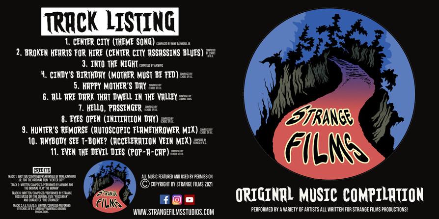 Strange Films CD