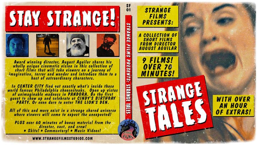 Strange Tales Blu-Ray