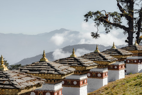 Amankora, Bhutan - Dochula Pass, Between