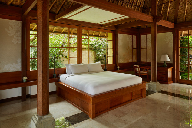 Amandari, Indonesia - Valley Suite Bedro