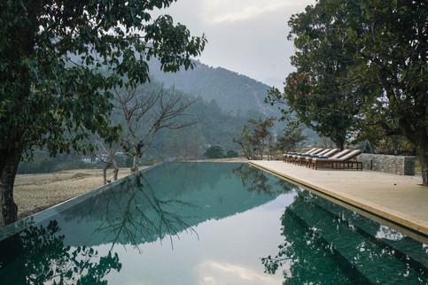 Amankora, Bhutan - Punakha Lodge Swimmin
