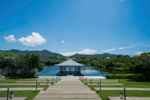 Amanoi, Vietnam - Yoga Pavilion on Spa L