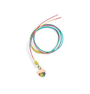 Dodo RAINBOW charm and cord