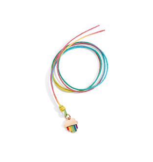 Dodo RAINBOW charm and cord