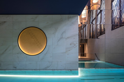 Hotel Lutetia - Akasha Spa pool detail.j