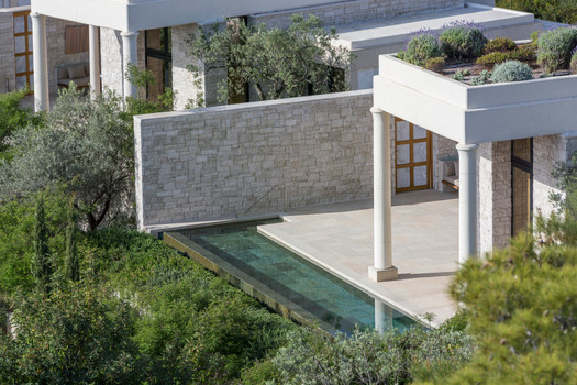 Amanzoe, Greece - Pavilion Exterior_High
