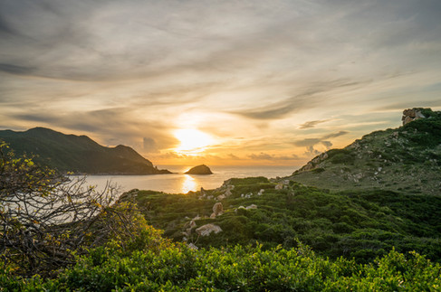 Amanoi, Vietnam - View of the Bay at Sun