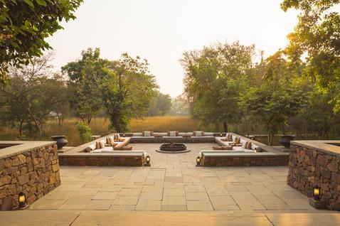 Aman-i-Khas, India - Terrace Set Up_High