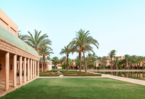 Amanjena, Morocco - Corridor Design & Ga