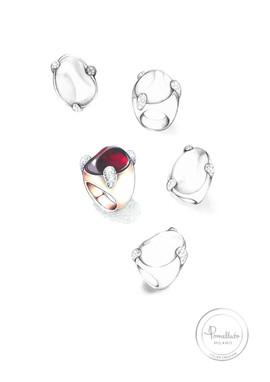Pomellato - Montenapoleone collection sketch  02.jpg