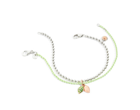 Dodo bracelets with charm LEAF