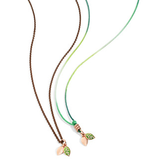 Dodo necklaces with charm LEAF