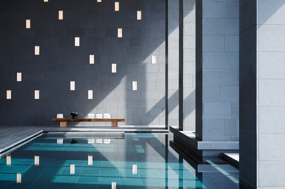 Aman Tokyo, Japan - Aman Spa Swimming Po