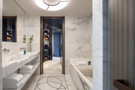 Hotel Lutetia - Suite Lutetia bathroom.j