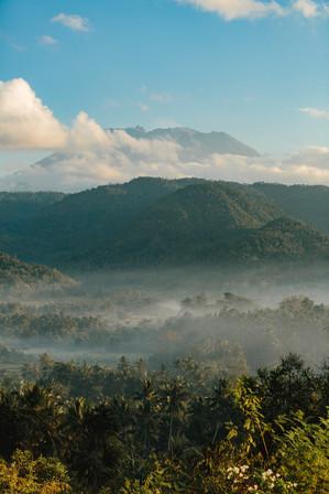 Amankila, Bali - Sunrise Breakfast Views