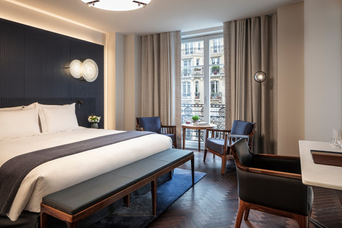Hotel Lutetia -Deluxe room with balcony.