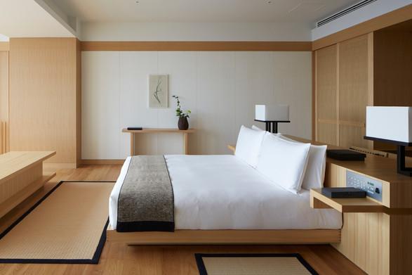 Aman Tokyo, Japan - Aman Suite, Bedroom_