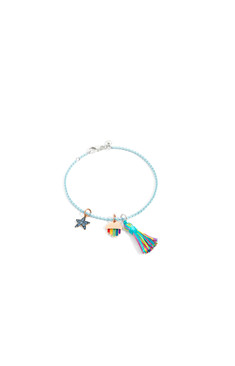 Dodo bracelet with charms RAINBOW and starfish
