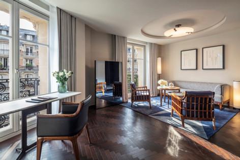 Hotel Lutetia - Suite Lutetia living roo