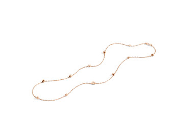 Iconica rose gold necklace by Pomellato_