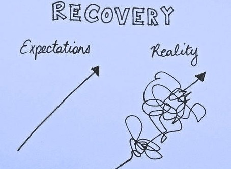 Recovery: it takes time and patience