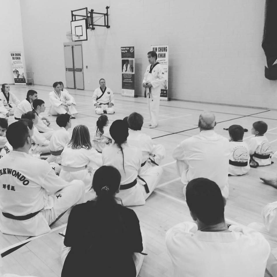 taekwondo seminar grand master taekwondo kim yong ho