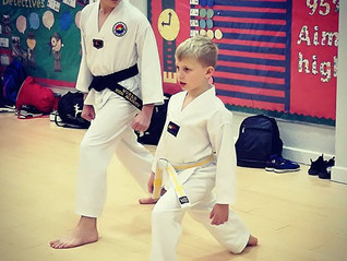 Coming up with engaging Taekwondo lessons for kids.