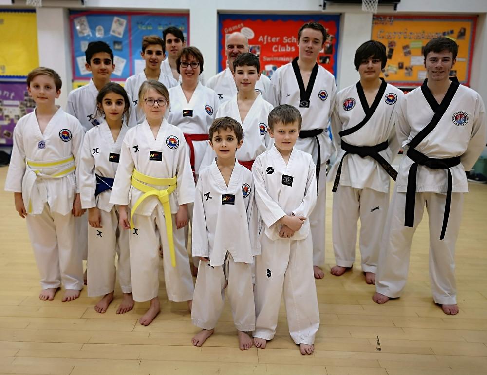 darlington taekwondo class