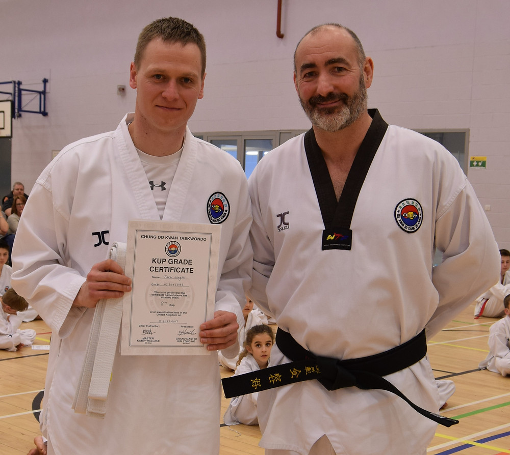 black belt taekwondo journey