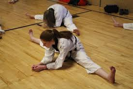 Achieving Front Splits in Taekwondo