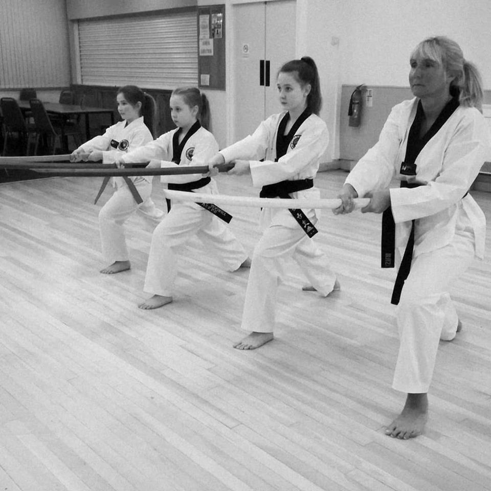 Taekwondo Sword Training