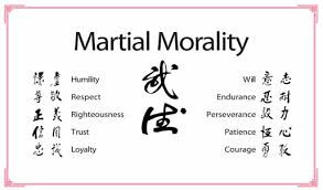 The Wu De Code: Martial Art Code of Conduct