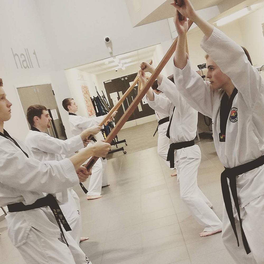 darlington martial arts sword training