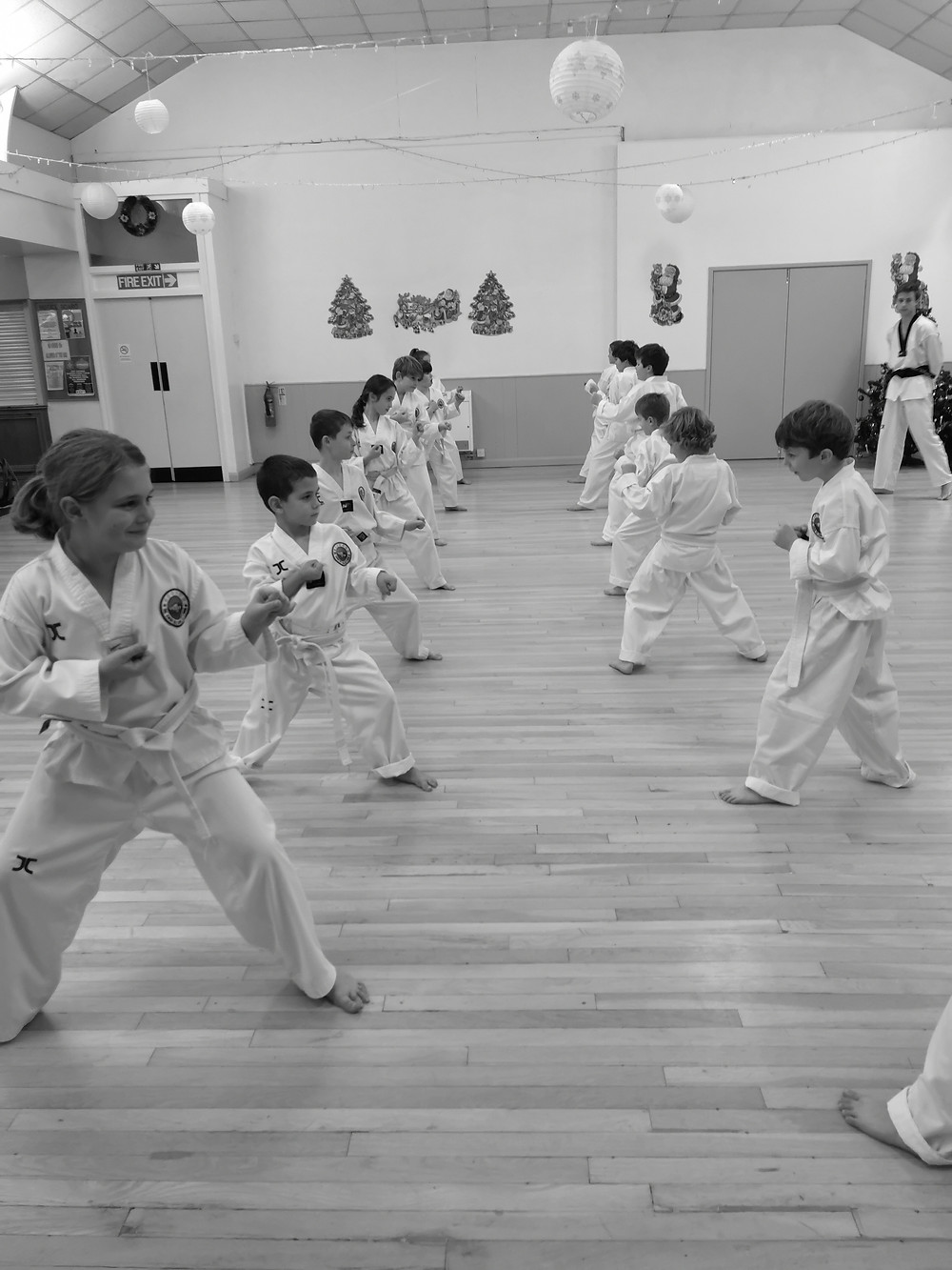taekwondo kids white belts