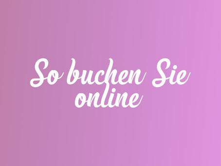 Wie buche ich einen Online-Termin?