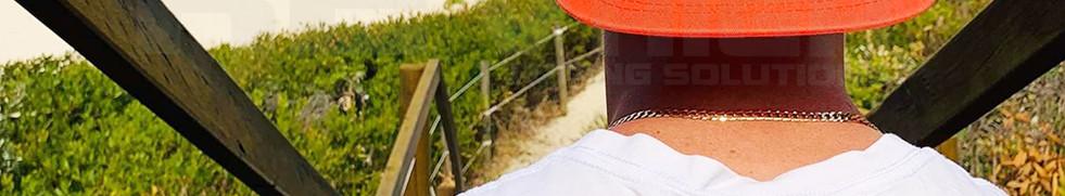 Revhigh Caps Baseball Cap  Mens Orange B